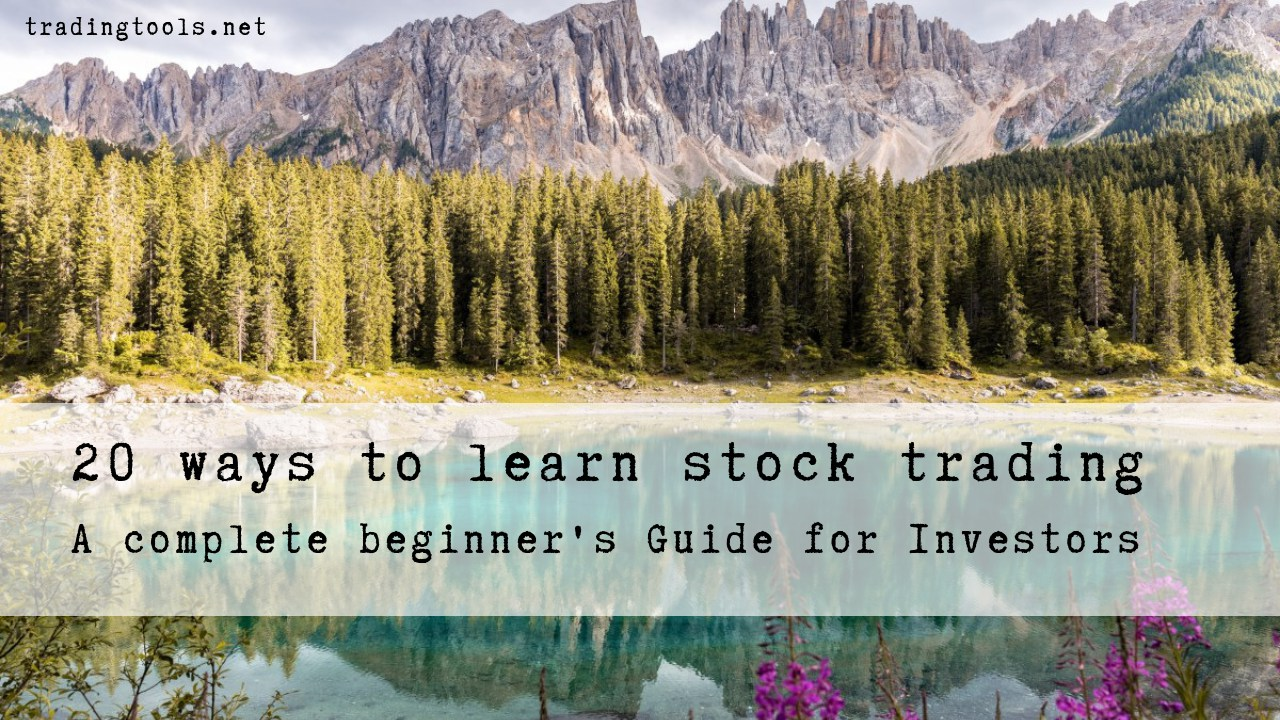 20 ways to learn stock trading