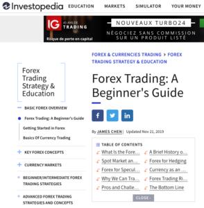 Investopedia forex