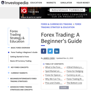 Forex trading investopedia